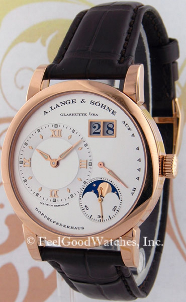 A. Lange & Sohne 109.032 Lange 1 Moonphase, Red Gold