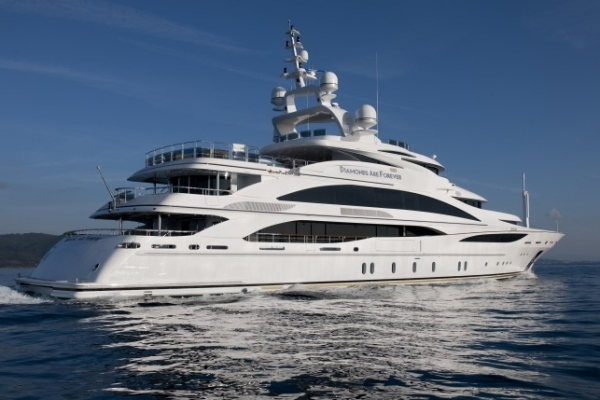 quotDiamonds Are Foreverquot 2012 200 Benetti Mega Yacht for  : 445 2012200BenettiMegaYacht 1632 from www.luxetrader.com size 600 x 400 jpeg 148kB