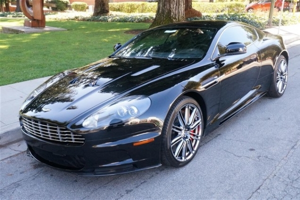 2012 Aston Martin DBS Carbon Black
