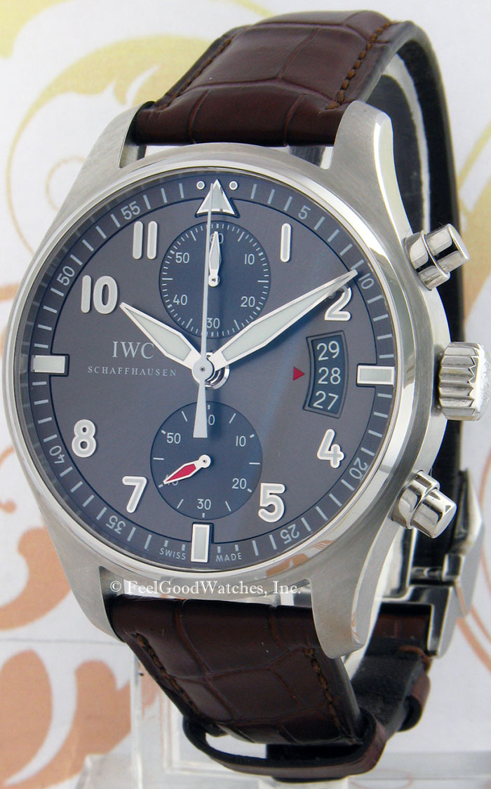 IWC IW387802 Spitfire Chronograph, Steel