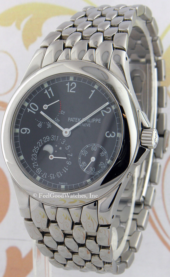 Patek Philippe 5085/1A Complication, Steel, NEW OLD STOCK!