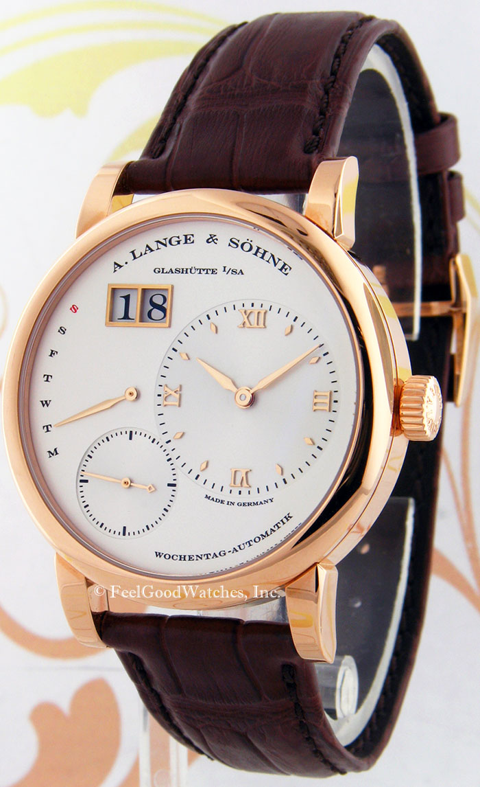 A. Lange & Sohne 320.032 Lange 1 Daymatic, Red Gold