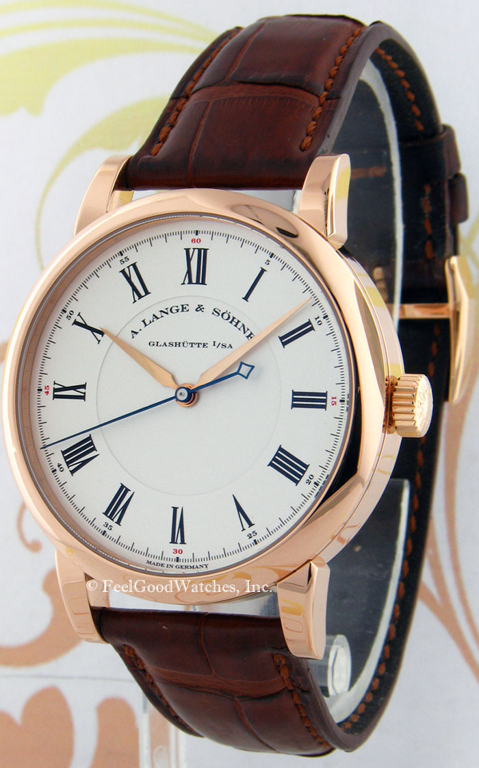 A. Lange & Sohne 232.032 Richard Lange Observation Watch, Red Gold