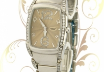 Parmigiani PF010341-04 Ladies' Kalpa Piccola, Steel & Diamonds