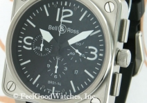 Bell & Ross BR01-94 Instrument Chronograph, Steel