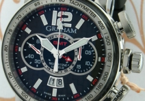 Graham 2BLAH.BO3A.K47S Silverstone Luffield GMT Flyback Chronograph, Steel