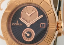 Corum 283.510.55/0001 BN56 Ltd Ed Romvlvs Automatic Two Time Zone, Red Gold