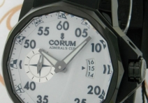 Corum Admiral's Cup Limited Edition Competition 48, Titanium, White Dial