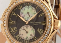 Patek Philippe 4934R Ladies' Travel Time, Rose Gold