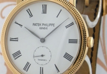 Patek Philippe 5119J Calatrava, Yellow Gold, Tiffany Dial