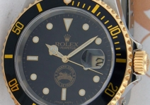 Rolex 16613 Submariner, Limited Edition Panama Canal, Steel & Ye