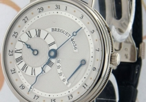 Breguet 3680BB Regulateur Power Reserve, White Gold