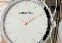 Audemars Piguet 15180BC Jules Audemars Automatic Ultra-Thin, White Gold
