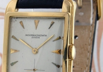 Vacheron Constantin Vintage Rectangular Gent's, Yellow Gold