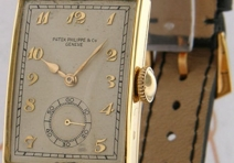 Patek Philippe 1470J Vintage Rectangle, Yellow Gold