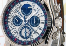 Roger Dubuis SY43 Sympathie Perpetual Calendar Chronograph, White Gold