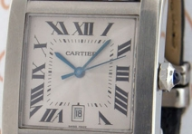 Cartier 2564 Tank Francaise Grand Modele, Steel