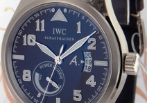 IWC IW320102 Limited Edition Antoine de St. Exupery Pilot's, White Gold