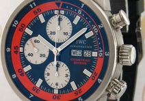 IWC IW378101 Limited Edition Aquatimer Cousteau Diver's Chronograph, Steel