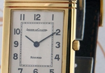 Jaeger-LeCoultre Reverso Classic, Yellow Gold