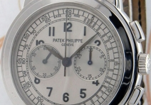 Patek Philippe 5070G Chronograph, White Gold