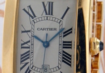 Cartier 1740 Tank Americaine Grande Modele, Yellow Gold