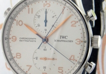IWC IW371202 Portuguese Chronograph Rattrapante, Steel