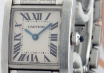 Cartier W51008Q3 Ladies' Tank Francaise, Steel