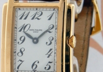 Patek Philippe 4824J Ladies' Gondolo, Yellow Gold, ca. 1993