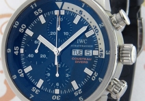 IWC IW378201 Cousteau Calypso Diver's Chronograph, Steel