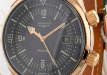 Longines L36748500 Heritage Legend Diver, Rose Gold