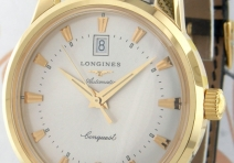 Longines L16456754 Conquest Heritage, Yellow Gold