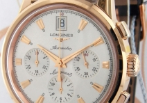 Longines L16418724 Conquest Heritage Chronograph, Rose Gold