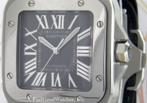 "Cartier W20134X8 Santos 100 ""King Road"" Edition, Steel"