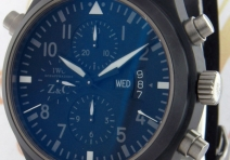 IWC IW379903 Limited Edition Doppelchronograph for Zegg & Cerlati, Ceramic
