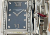 Patek Philippe 4910/10A Ladies' Twenty~4, Steel, Blue Dial