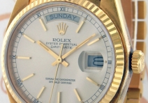 Rolex 18038 President Day/Date, Yellow Gold, ca. 1984