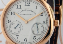 A. Lange & Sohne 221.032 1815 Up & Down, Red Gold