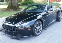 2013 Aston Martin V8 Vantage Manual Roadster
