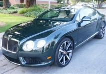2013 Bentley Continental GT V8 LE MANS EDITION
