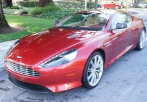 2013 Aston Martin DB9 Demonstrator Coupe