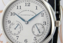 A. Lange & Sohne 221.025 1815 Up & Down, Platinum