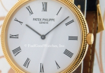 Patek Philippe 5120J Calatrava, Yellow Gold