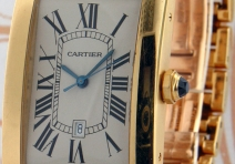 Cartier 1740 Tank Americaine Grand Modele, Yellow Gold