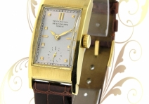 Patek Philippe Vintage Rectangle, Yellow Gold, ca. 1940-41