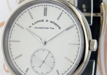 A. Lange & Sohne 380.026 Saxonia Automatic, White Gold