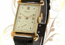 Patek Philippe 1580 Vintage Rectangle, Rose Gold, ca. 1949