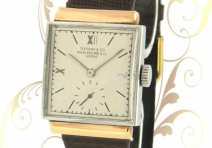 Patek Philippe 1408/1 Vintage 2-Tone Square, Steel & Rose Gold,