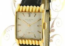 Patek Philippe 2517 Vintage Rectangle, Yellow Gold, ca. 1953