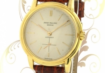 Patek Philippe 3433 Classic Automatic, Yellow Gold, Asprey Dial,